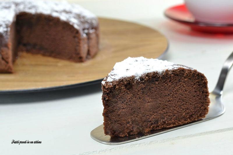 Torta Al Cioccolato Con Acqua.Torta All Acqua Con Cacao Ricetta Senza Burro Ed Uova