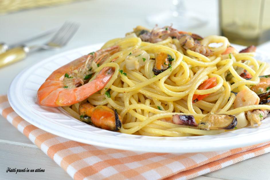 Spaghetti allo scoglio ricetta semplice e collaudata for Spaghetti ricette