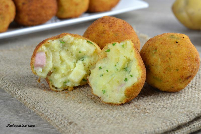 Polpette di patate svuotafrigo