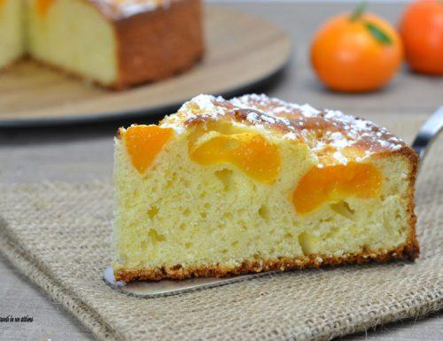 Torta morbida ai mandarini e yogurt