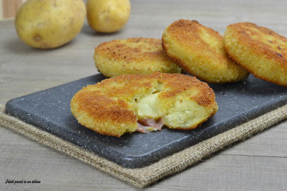 Medaglioni di patate ripieni cotti in forno for Quando seminare le patate