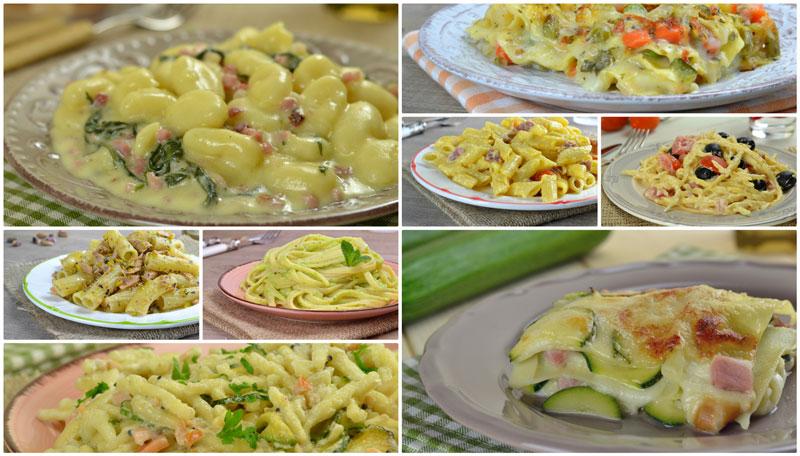 Primi piatti primaverili ricette facili e veloci for Primi piatti semplici