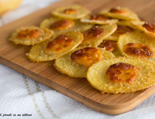 Chips di patate al formaggio