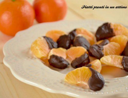 Clementine al cioccolato