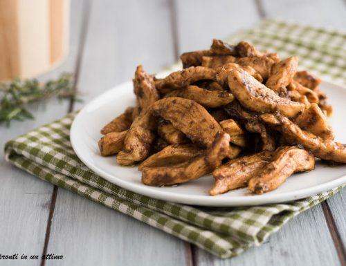 Straccetti di pollo alle erbe aromatiche