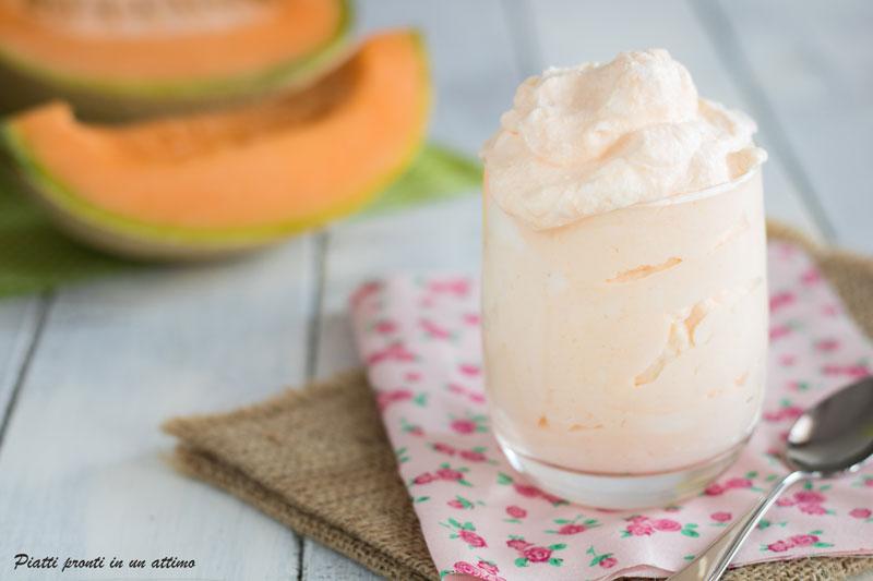 crema fredda al melone