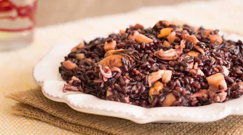 riso venere ai frutti di mare