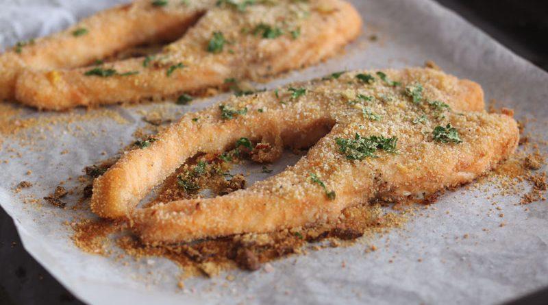 Salmone gratinato