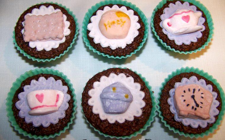Cupcake al cioccolato e nocciole per l'ora del tè – ricetta golosa