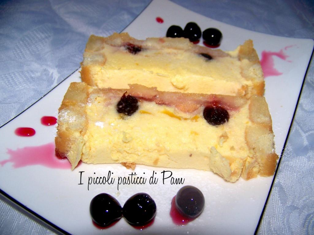 semifreddo alle amarene ricetta dolce I piccoli pasticci di Pam