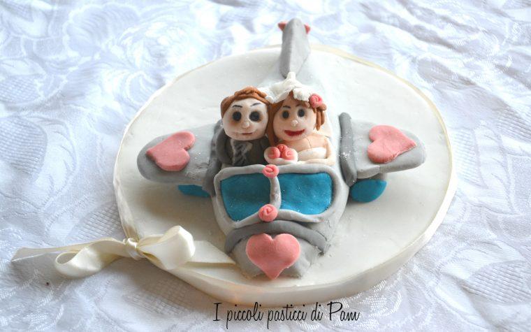 Wedding cake topper, ricetta cake design