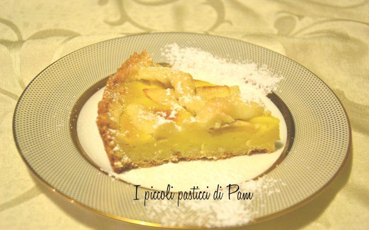 Crostata con crema pasticcera e mele, ricetta golosa