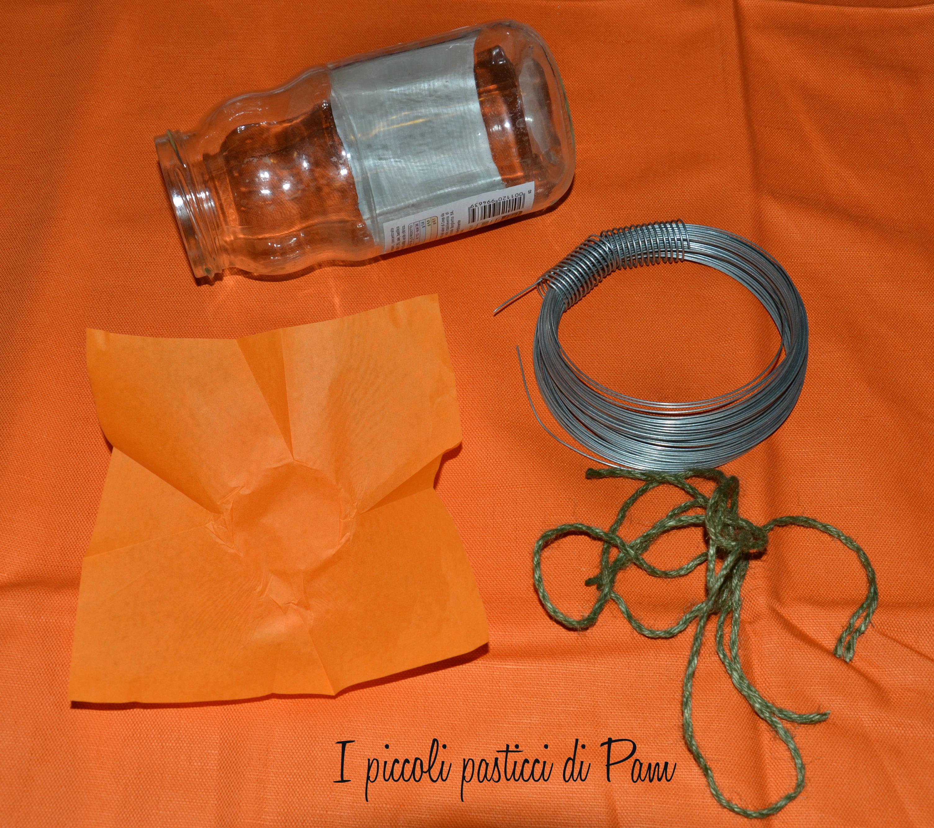 Barattolo portacaramelle di halloween idea halloween I piccoli pasticci di Pam
