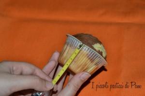 Cupcake wrapper, un vestitino per cupcakes idea fai da te I piccoli pasticci di Pam