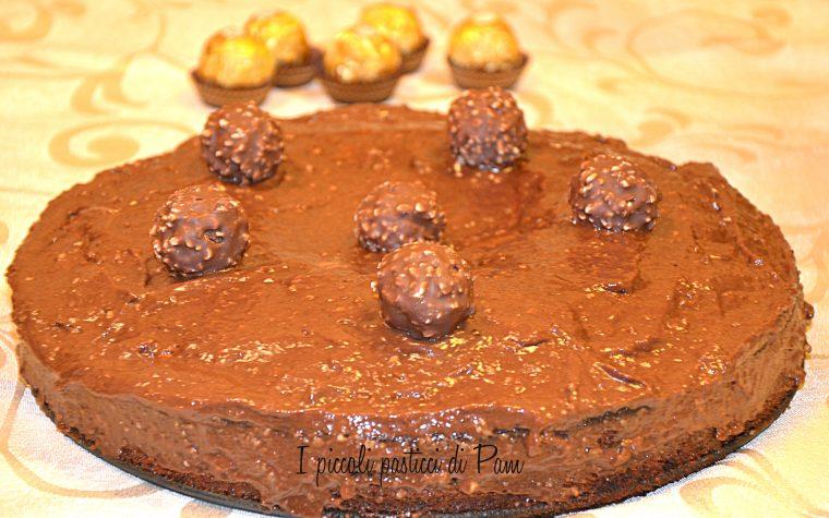 Torta Ferrero Rocher, ricetta golosa