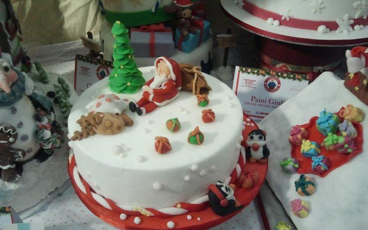 La mia partecipazione alla Christmas Cake Gallery, cake design