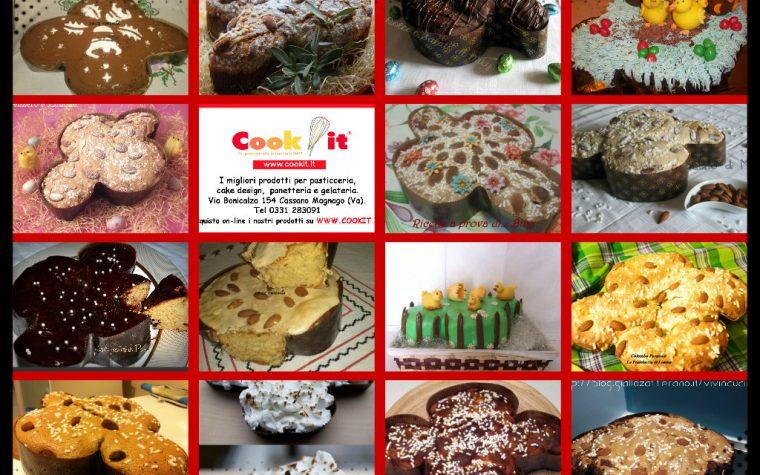 Le colombe di Pasqua dei blogger Giallozafferano Lombardia in collaborazione con Cook it