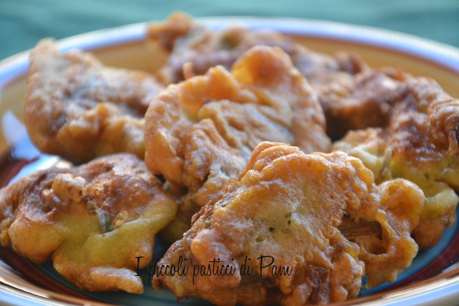 frittelle di carciofi, ricetta finger food