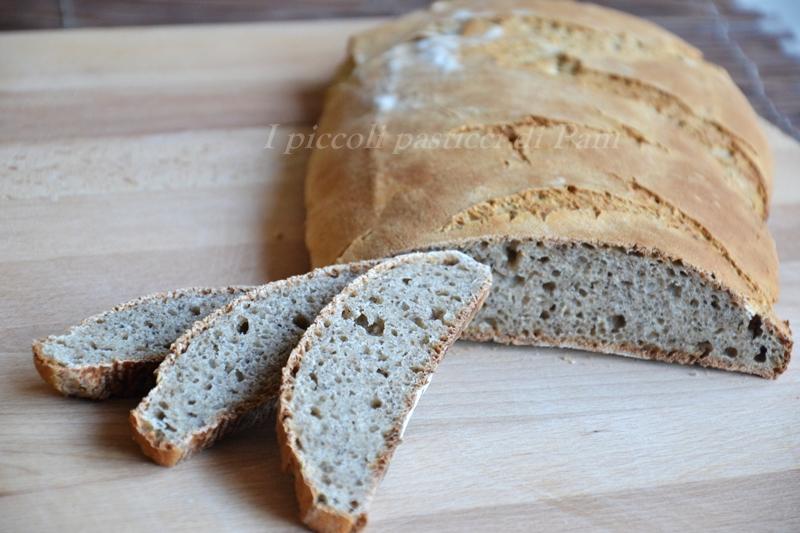 Pane al grano saraceno con lievito madre, ricetta lievitati