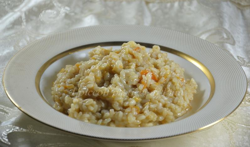 Risotto alla zucca e taleggio, ricetta primi piatti