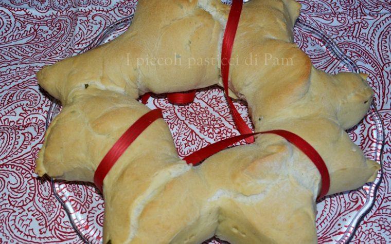 Pane al rosmarino, centrotavola per le feste