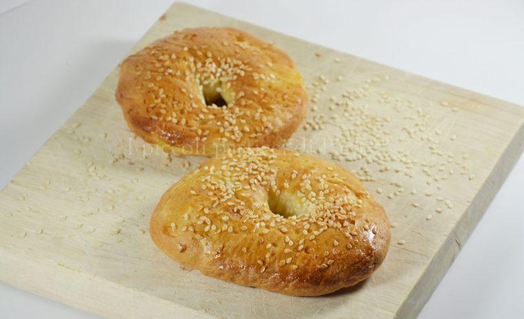 Bagels, ricetta lievitati
