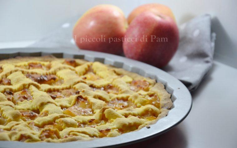 Crostata di mele cremose