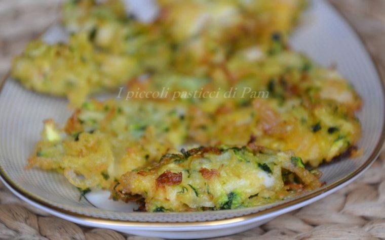 Bocconcini di pollo in crosta di zucchine senza nichel