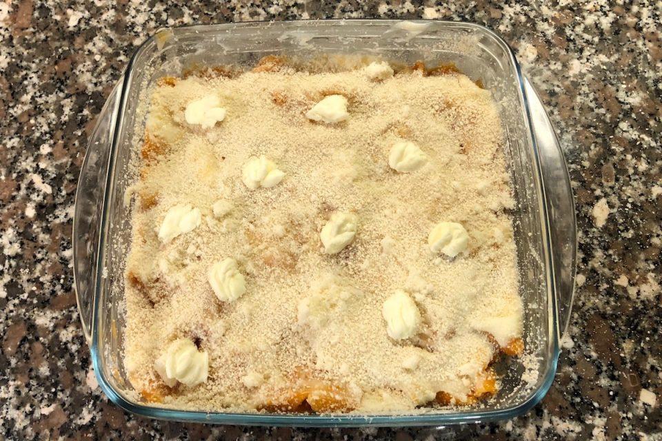 Pasta e pomodoro al forno