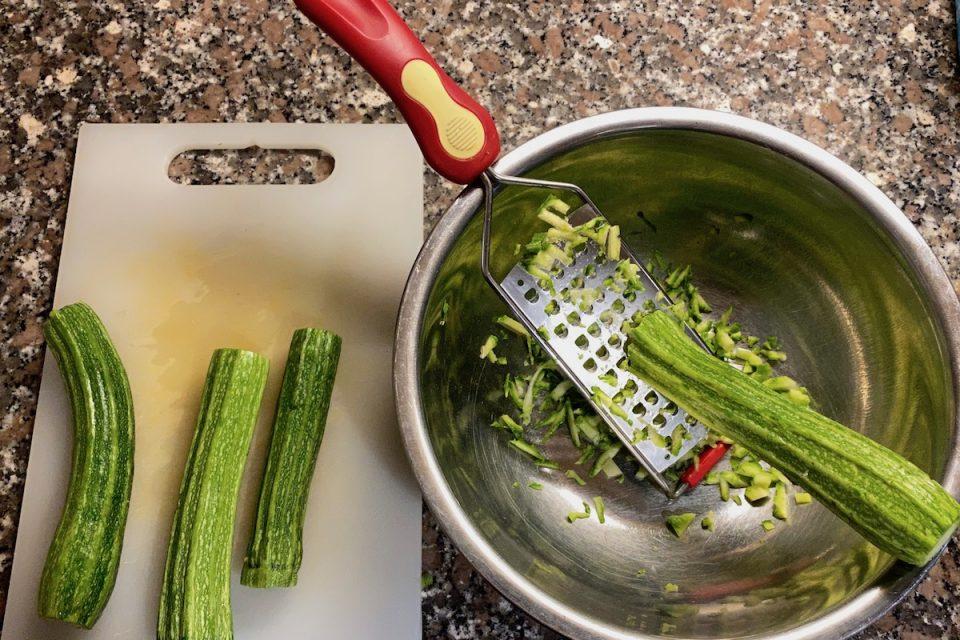 Polpette di zucchine e ricotta