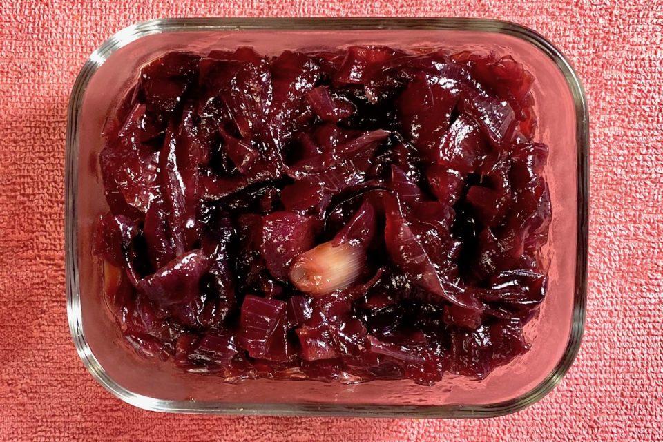 Cipolle caramellate al balsamico