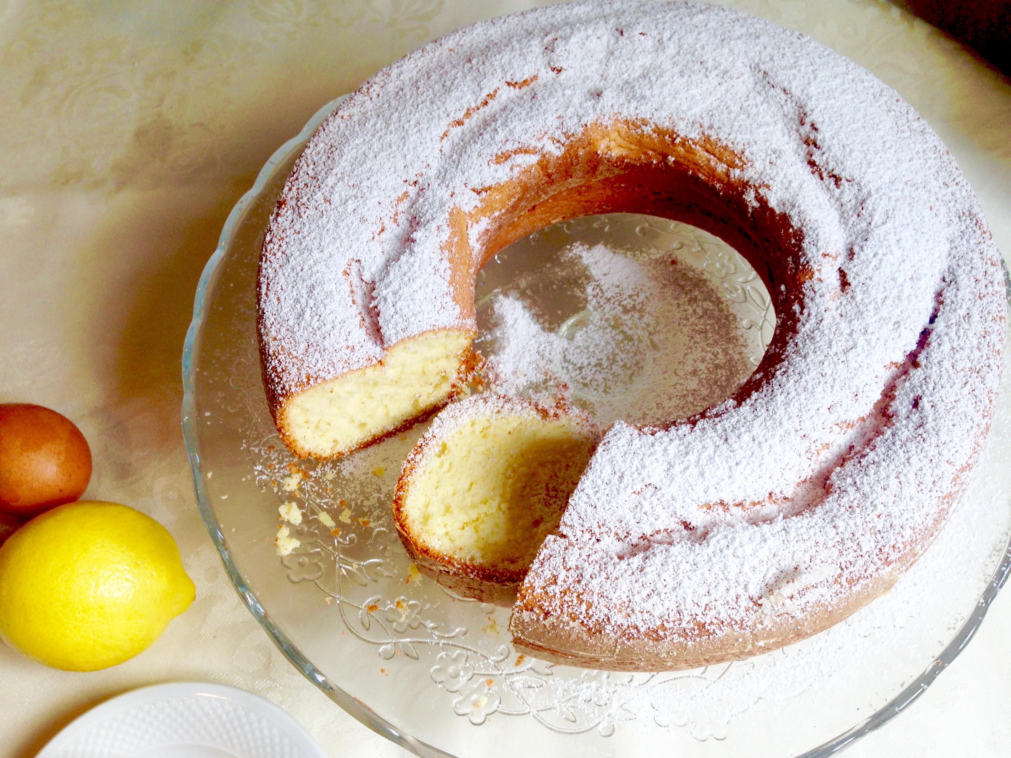 Torta Chiffon Cake