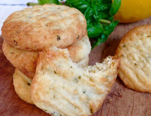 Biscotti al Basilico e Limone