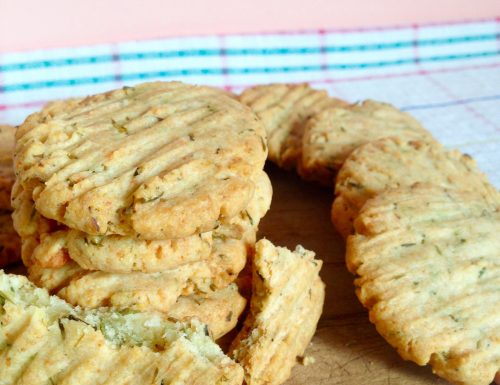 Biscotti Salati al Parmigiano e Timo