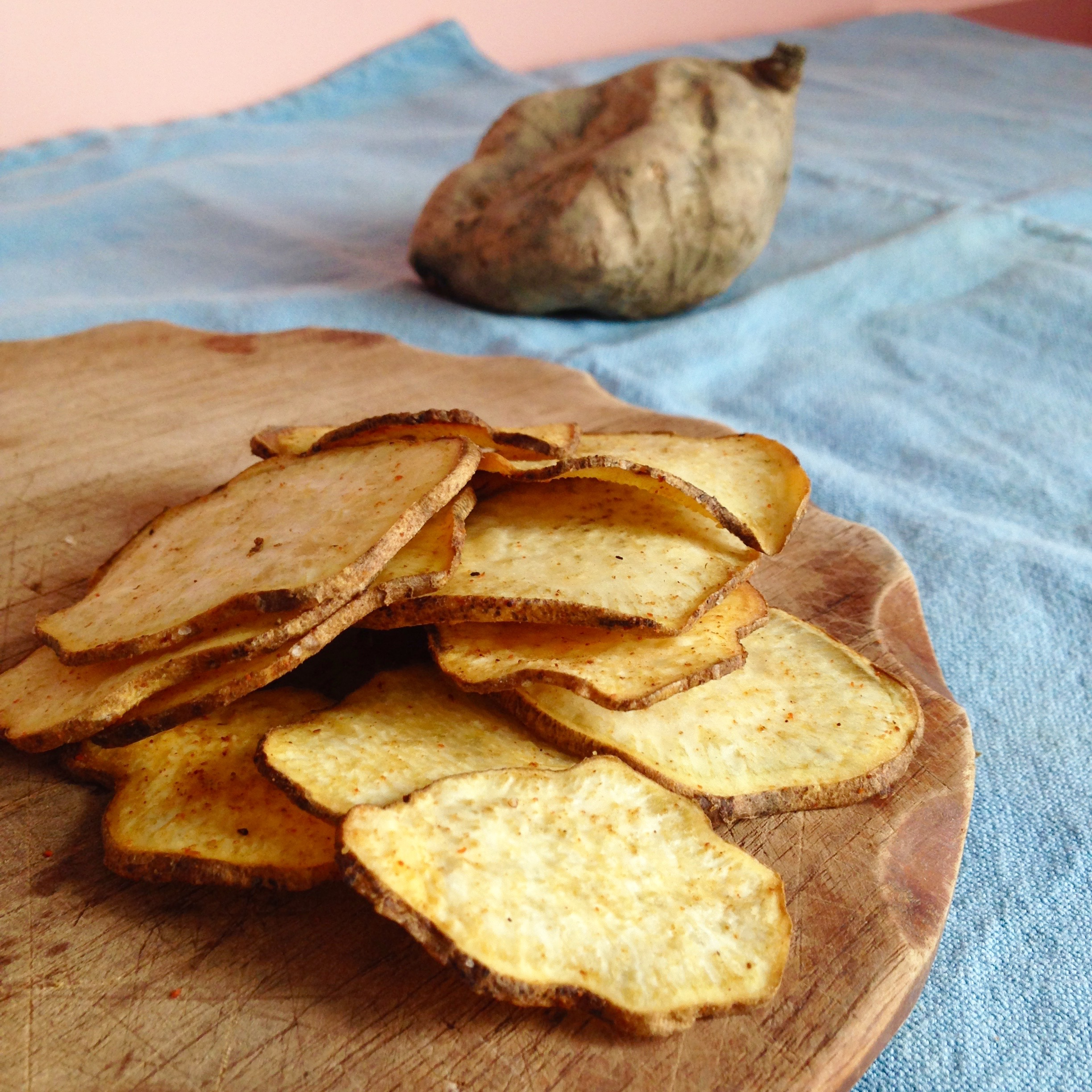 Lovely CHIPS DI PATATE DOLCI AMERICANE