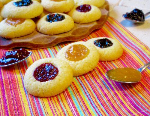 Biscotti con Marmellata, Ricetta Facile