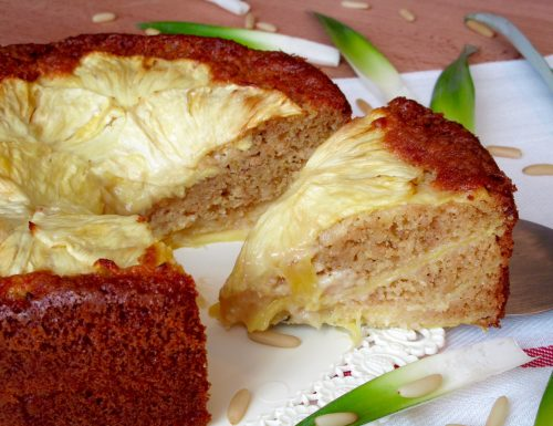 Torta all'Ananas e Pinoli