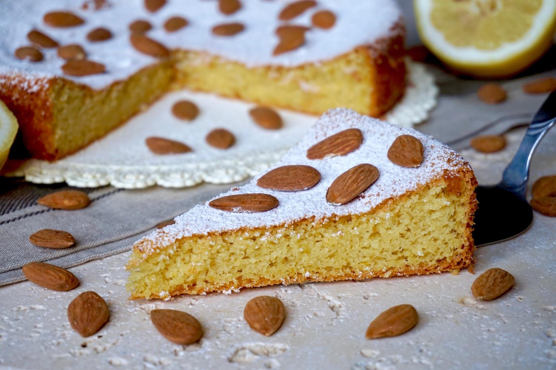 Torta alle Mandorle e Limone Senza Farina