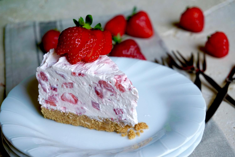Cheesecake alle Fragole, Senza Cottura