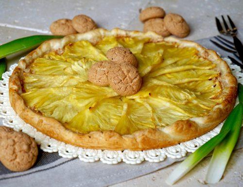 Sfogliata all'Ananas e Amaretti