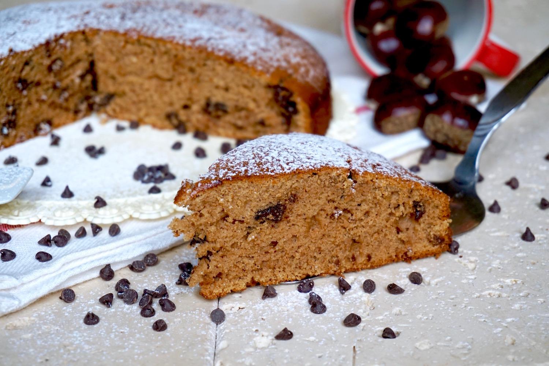 Torta con Farina di Castagne e Cioccolato Facilissima
