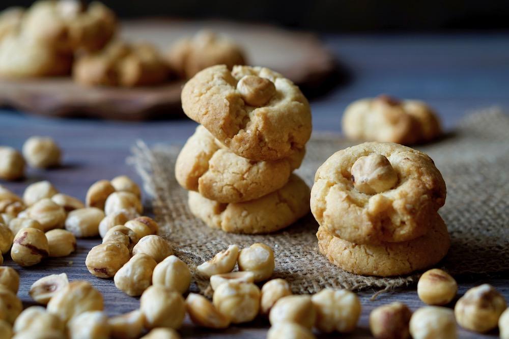 Biscotti Facili alle Nocciole
