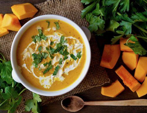 Zuppa di Zucca alla Tailandese, Facile e Veloce
