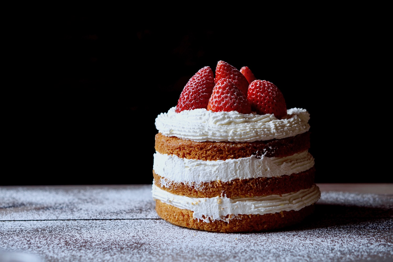 Naked Cake ricetta con crema veloce - Sapore di Arianna