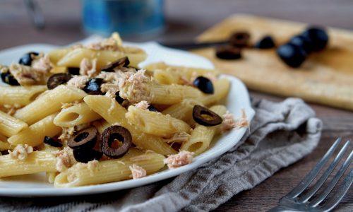 Pasta Tonno e Olive, Facile e Veloce