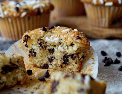 Muffin Senza Bilancia con Gocce di Cioccolato