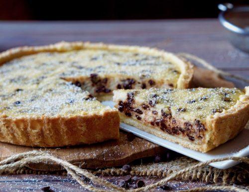 Crostata Facile Ricotta e Cioccolato