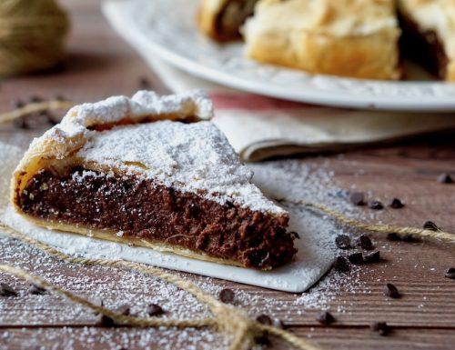 Torta di Sfoglia Cioccolato e Ricotta