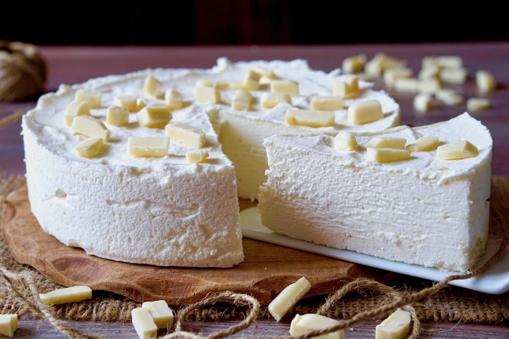 Torta Gelato al Cioccolato Bianco