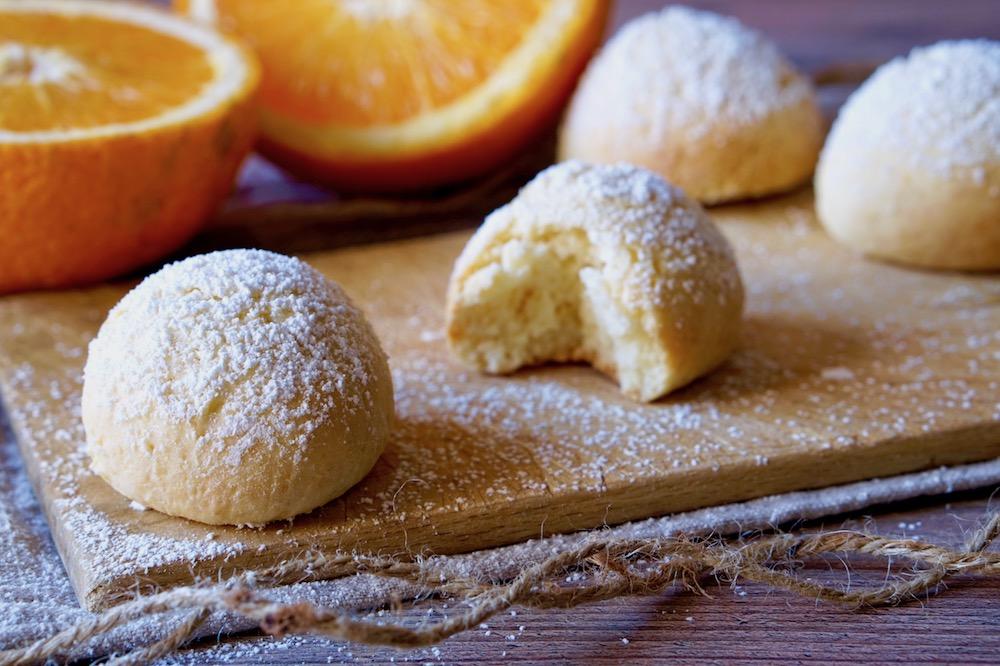 Biscotti Morbidi Yogurt e Arancia